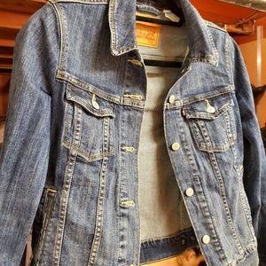 Blue Jean Levi's Jacket